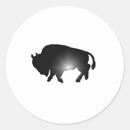 Buffalo Glare Sticker
