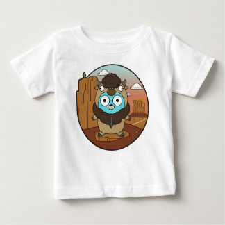 Buffalo Gopher in Desert Baby T-Shirt