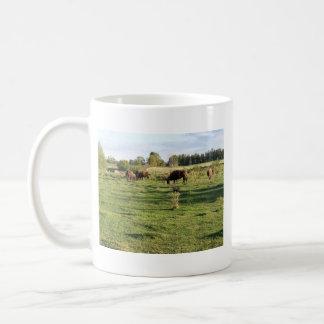 Buffalo Grazing Mug