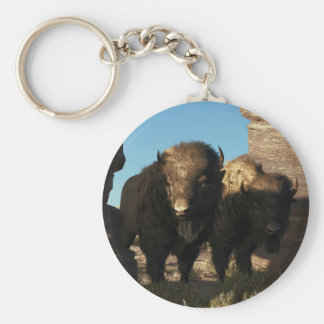 Buffalo Guard Keychain