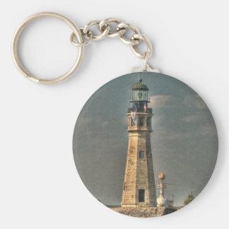Buffalo Harbor Lighthouse Keychain