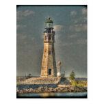 Buffalo Harbor Lighthouse Postcard