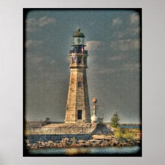 Buffalo Harbor Lighthouse Poster/Print Poster