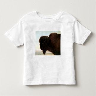 Buffalo Head art Albert Bierstadt bison painting Toddler T-shirt
