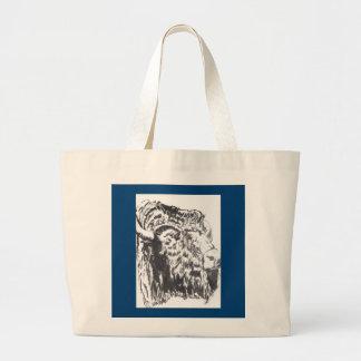 Buffalo Head Bag