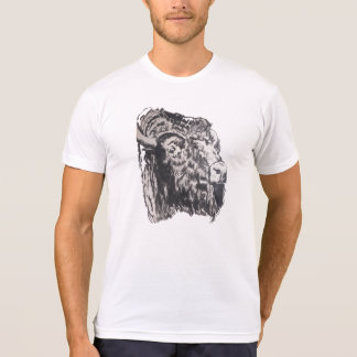Buffalo Head Men's T-shirt, T-Shirt