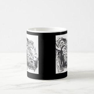 Buffalo Head Mug Wrap