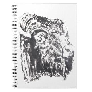 Buffalo Head Notebook