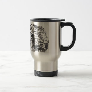 Buffalo Head Travel Mug