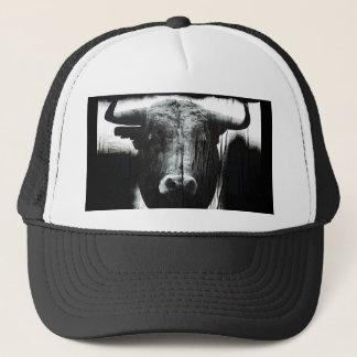 Buffalo head trucker hat
