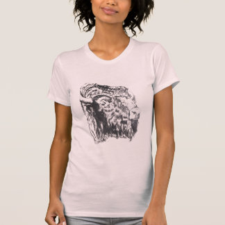 Buffalo Head Tshirt womens