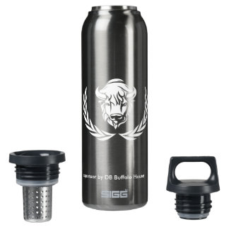 buffalo house bottle 16 oz insulated SIGG thermos water bottle