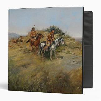 Buffalo Hunt, 1891 (oil on canvas) Binder