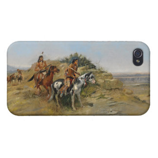Buffalo Hunt, 1891 (oil on canvas) Cover For iPhone 4