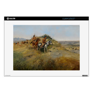 Buffalo Hunt, 1891 (oil on canvas) Laptop Decal