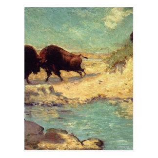 Buffalo Hunt by Robert Julian Onderdonk Postcard