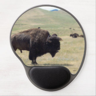 Buffalo Hunt Gel Mousepad