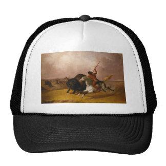 Buffalo Hunt on the Southwestern Plains - 1845 Trucker Hat