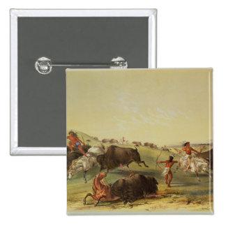 Buffalo Hunt Pins