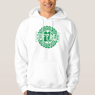 Buffalo Irish Bottle Cap Drinking Team Hooded Sweatshirt