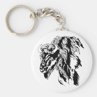 Buffalo Key Chain