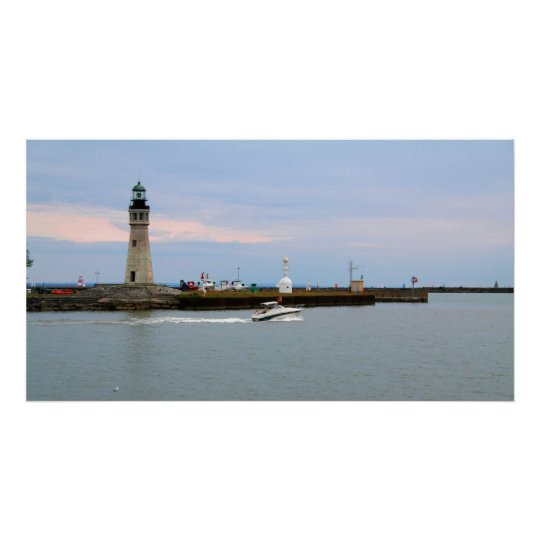 Buffalo Lake Erie Lighthouse Poster