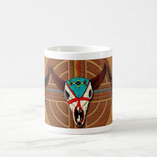 Buffalo Lodge Classic White Coffee Mug