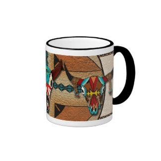 Buffalo Lodge II Ringer Coffee Mug
