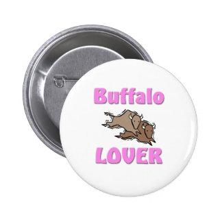 Buffalo Lover Pinback Buttons