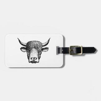 Buffalo Luggage Tag