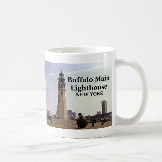Buffalo Main Lighthouse, New York Mug