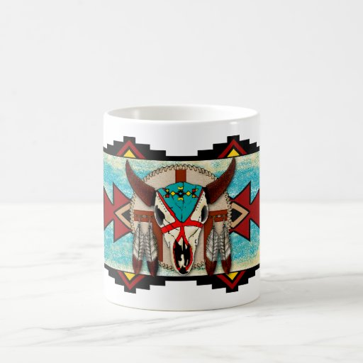 Buffalo Motif Coffee Mug