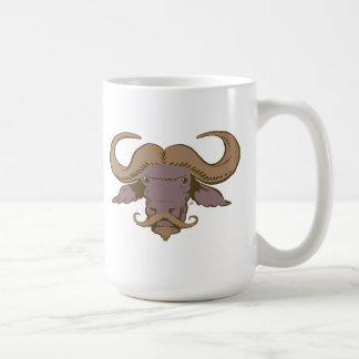 Buffalo Moustache Coffee Mug