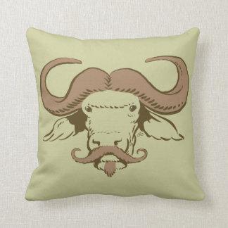 Buffalo Moustache Pillow