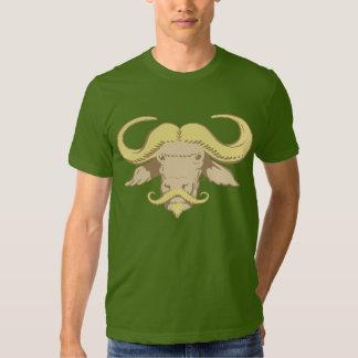 Buffalo Moustache T Shirt