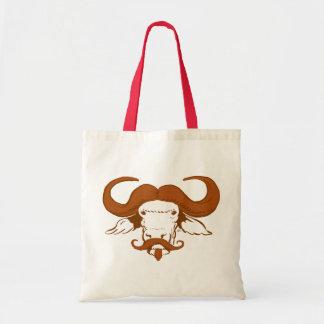 Buffalo Moustache Tote Bag