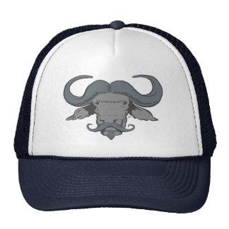 Buffalo Moustache Trucker Hat