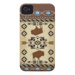 """Buffalo"" Native American IPhone 4S Case iPhone 4 Case"