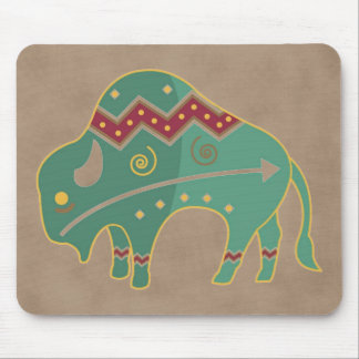 Buffalo Native American Mousepad