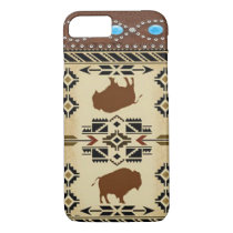 """Buffalo"" Native American Western iPhone 7 case"