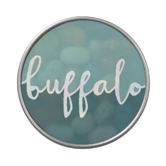 Buffalo, New York | Blue Circle Ombre Jelly Belly Candy Tins