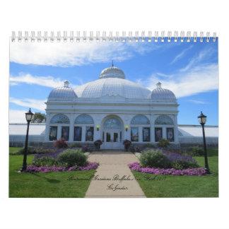 Buffalo New York Botanical Gardens 2017 Calendar