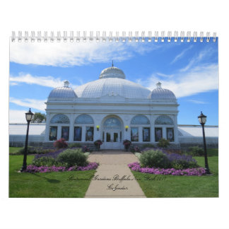 Buffalo New York Botanical Gardens 2018 Calendar