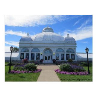 Buffalo New York Botanical Gardens Postcard