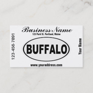 Buffalo new york business cards templates zazzle buffalo new york business card reheart Gallery