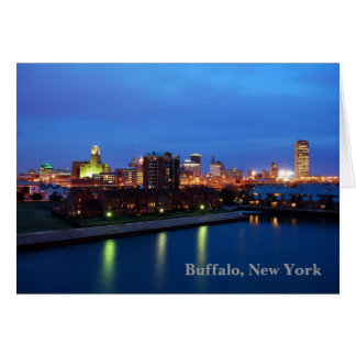 Buffalo, New York Card