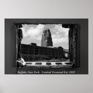 Buffalo, New York   'Central Termi... Posters