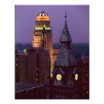Buffalo, New York County and City Hall Buildings Photo Print