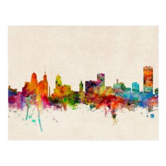 Buffalo New York Skyline Cityscape Postcard