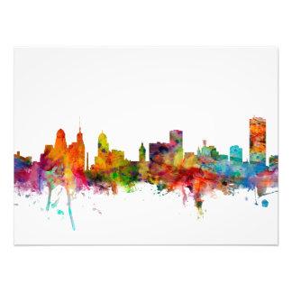 Buffalo New York Skyline Photograph